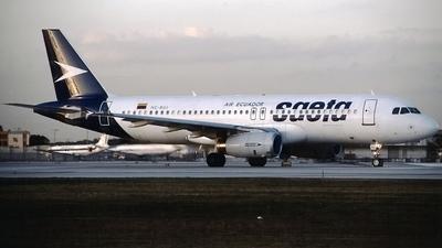 HC-BUJ - Airbus A320-232 - Saeta Ecuador