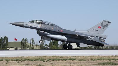 91-0024 - General Dynamics F-16D Fighting Falcon - Turkey - Air Force