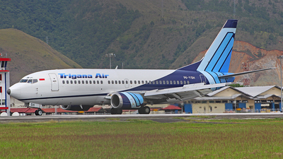 PK-YSH - Boeing 737-301 - Trigana Air Service