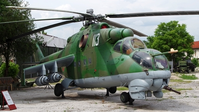 113 - Mil Mi-24D Hind D - Bulgaria - Air Force