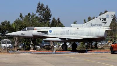 726 - IAI Kfir C1 - Israel - Air Force