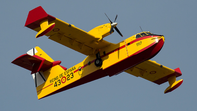 UD.13T-23 - Canadair CL-215T - Spain - Air Force
