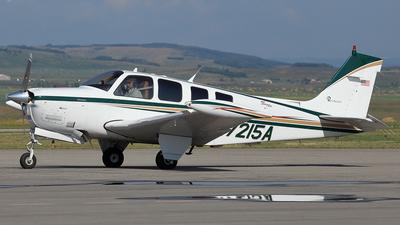 A picture of N7215A - Beech A36 Bonanza - [E2213] - © Mike MacKinnon