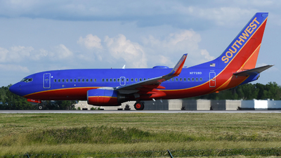 A picture of N7728D - Boeing 7377BD - Southwest Airlines - © DJ Reed - OPShots Photo Team