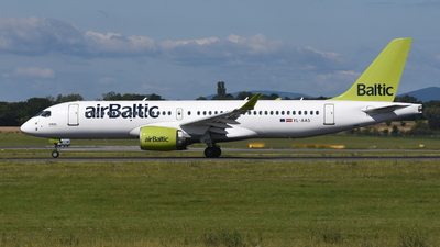 A picture of YLAAS - Airbus A220300 - Air Baltic - © Markus Pichler