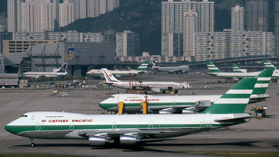VR-HKG - Boeing 747-267B - Cathay Pacific Airways