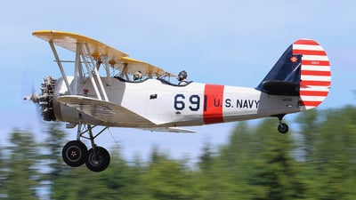 N45300 - Naval Aircraft Factory N3N-3 Yellow Peril - Private