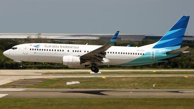 A picture of PKGEN - Boeing 7378AS - Garuda Indonesia - © Francesco Andrae