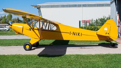 I-NIKI - Piper PA-18-150 Super Cub - Aerial Banners