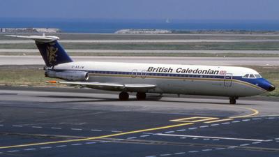 G-AXJM - British Aircraft Corporation BAC 1-11 Series 501EX - British Caledonian Airways