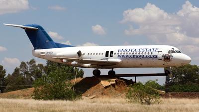TN-BEH - Fokker F28-4000 Fellowship - Trans Air Congo