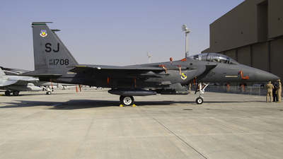 88-1708 - McDonnell Douglas F-15E Strike Eagle - United States - US Air Force (USAF)