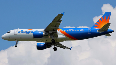 A picture of N258NV - Airbus A320214 - Allegiant Air - © Chrisjake