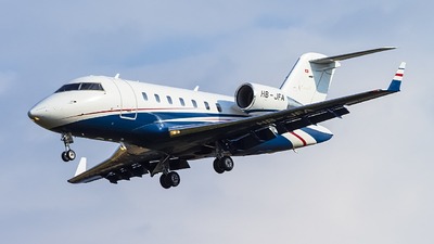 HB-JFA - Bombardier CL-600-2B16 Challenger 605 - Nomad Aviation