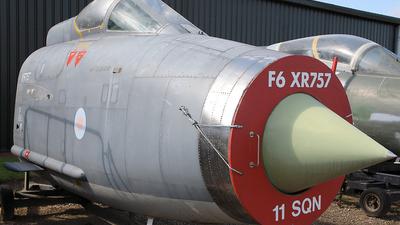 XR757 - English Electric Lightning F.6 - United Kingdom - Royal Air Force (RAF)