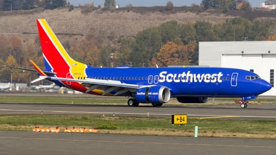 N8724J - Boeing 737-8 MAX - Southwest Airlines