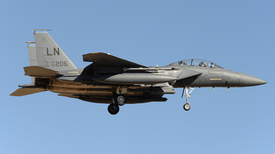 96-0205 - McDonnell Douglas F-15E Strike Eagle - United States - US Air Force (USAF)