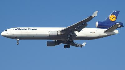 A picture of DALCK - McDonnell Douglas MD11F - Lufthansa Cargo - © Claudio Camargos