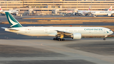 A picture of BKPL - Boeing 777367(ER) - Cathay Pacific - © Yau Yu Hao