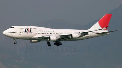 JA8075 - Boeing 747-446 - Japan Airlines (JAL)