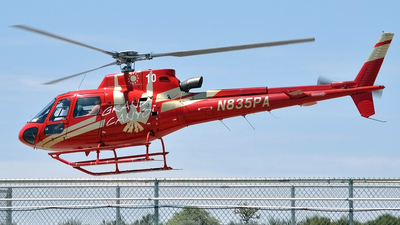 N835PA - Eurocopter AS 350B3 SuperStar - Papillon Grand Canyon Helicopters