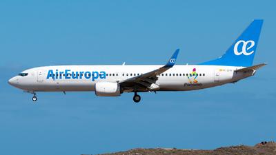 A picture of ECLYR - Boeing 73785P - Air Europa - © Pablo Gonzalez de Leon