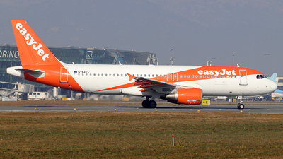 A picture of GEZTC - Airbus A320214 - easyJet - © Alberto Cucini