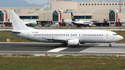 LY-CGC - Boeing 737-4Y0 - Grand Cru Airlines
