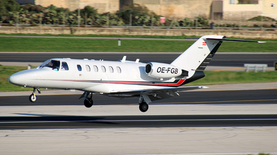 OE-FGB - Cessna 525A CitationJet 2 Plus - JetAlliance