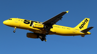 A picture of N604NK - Airbus A320232 - Spirit Airlines - © Andriy Yegorov