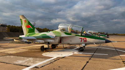 79 - Yakovlev Yak-130 - Belarus - Air Force