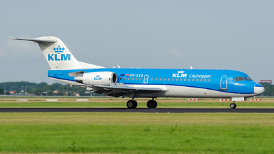 PH-KZB - Fokker 70 - KLM Cityhopper