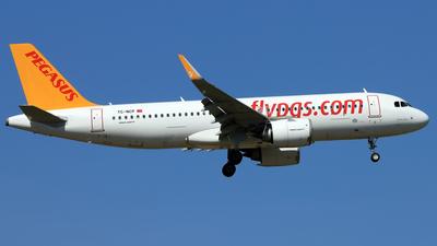 A picture of TCNCP - Airbus A320251N - Pegasus Airlines - © Eddie Heisterkamp