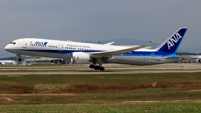 JA893A - Boeing 787-9 Dreamliner - All Nippon Airways (Air Japan)