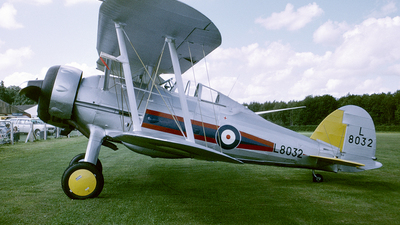 G-AMRK - Gloster Gladiator Mk.1 - Private