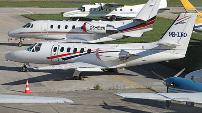 9H-LEO - Cessna 550 Citation II - Air City Grupo