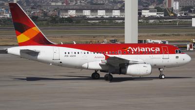 PR-AVH - Airbus A318-121 - Avianca Brasil