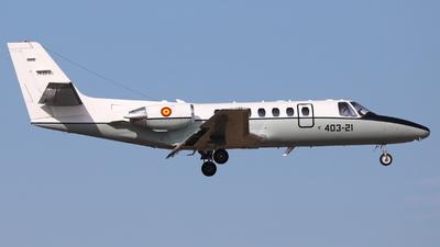 TR.20-03 - Cessna 560 Citation V - Spain - Air Force