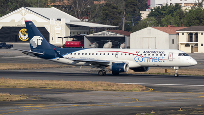 A picture of XAGAX - Embraer E190AR - Aeromexico Connect - © Juan Manuel Galvez