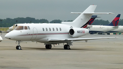 N832QS - Raytheon Hawker 800XP - NetJets Aviation