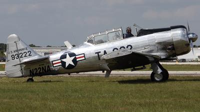 N22NA - North American T-6G Texan - Private