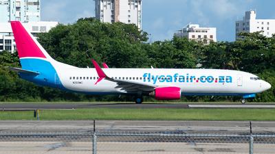 N269WC - Boeing 737-8EH - FlySafair