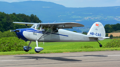 A picture of HBCAO - Cessna 170 - [18720] - © Jeremy Denton