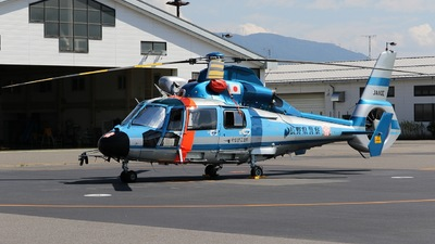 JA110E - Eurocopter AS 365N3 Dauphin - Japan - Police