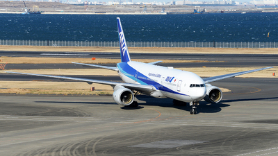 A picture of JA707A - Boeing 777281(ER) - All Nippon Airways - © Luozomi