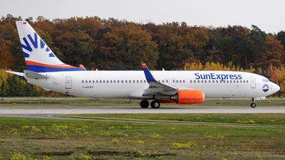 A picture of DASXT - Boeing 7378EH - [35837] - © Alexander Portas