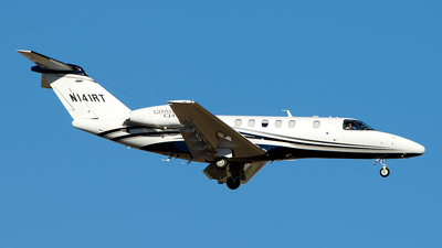 N141RT - Cessna 525 Citationjet CJ4 - Private