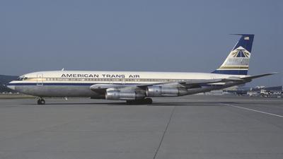 N7573A - Boeing 707-123 - American Trans Air (ATA)