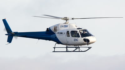 LN-OBW - Eurocopter AS 355N Ecureuil 2 - European Helicopter Center (EHC)