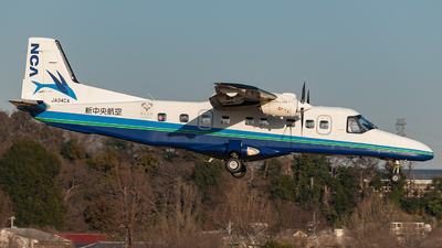 JA34CA - Dornier Do-228NG - New Central Airline (NCA)